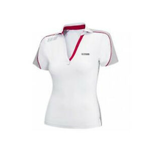 Can-Am Spyder Roadster New OEM Ladies Caliber Polo XL White 4533541201