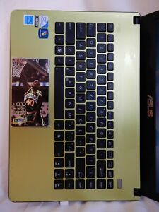Asus X401A - laptop - USED - green - Windows 10 - Shawn Kemp - 94 95 jam session