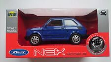 WELLY FIAT 126P BLUE 1:34 DIE CAST MODEL NEW