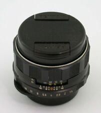 PENTAX Super-Takumar 1,4/50 50mm F1,4 M42 M-42 yellow coating adaptable all /20