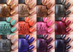OPI Nail Polish Nordic Collection Nail Lacquer Brand New Choose Shade