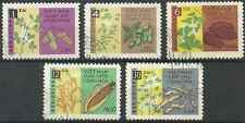Timbres Flore Viet Nam du Nord 294/8 o lot 13044