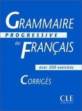 Grammaire Progressive Du Francais Level 2: Corriges