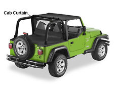 Jeep Wrangler TJ 96-02 Pavement Ends Cab Curtain  Black, In-stock AUS, FREE del