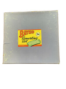 Original Bayko #3 Converter Set