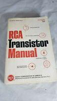 RCA Transistor Manual, Technical Series SC-13, 1967, Good Condition.
