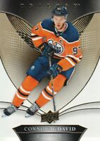 2018-19 Upper Deck Trilogy #25 Connor McDavid Edmonton Oilers