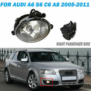 for AUDI A6 C6 A8 2005-2011 Right Passenger Fog Light Assembly Trim Housing