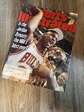 June 23, 1997 Michael Jordan Chicago Bulls Sports Illustrated