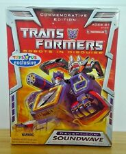 Transformers Robots in Disguise Toys R Us Exclusive Commemorative Soundwave NISB