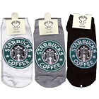 Starbucks Socks Low ankle socks for Man 3 Pair of socks ship:1.90