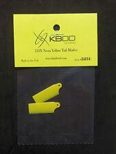 KBDD Blade 130 x Neon Yellow Tail Rotor Blade #5251, 130x