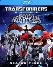 Transformers Prime Season 3 Three Beast Hunters New Sealed Blu-ray with Slipcase