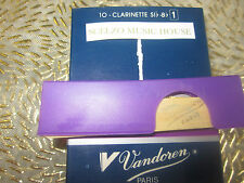 ANCE VANDOREN PER CLARINETTO SIb/Bb n.1 (lotto da 5 ance) made in FRANCE