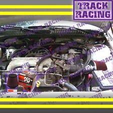 1994 1995 1996 1997 1998 GRAND AM 2.3L/2.4L/3.1L I4/V6 AIR INTAKE KIT+K&N Red