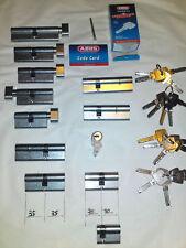 Abus D6n30/40 cylindre Nickelé D6 30 x 40 mm