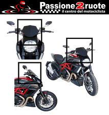 Cupolino Ducati Diavel 11-13 Fabbri gen-x nero pieno satinato dark windshield