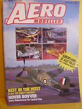 AEROMODELLER MARCH 1989 LE VEAU LENT PLANS HOVER BOVVER FRANK MONTS ORCRIST