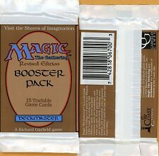 Vintage Magic | MTG 3rd Edition/Revised Booster Pack | Sea/Island/Tundra/Bayou??