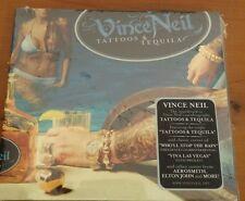 VINCE NEIL (MOTLEY CRUE) TATTOOS & TEQUILA -  CD NUOVO SIGILLATO (SEALED)