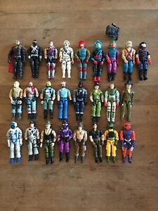 gi joe hasbro vintage Lot 25 Figurines