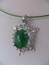 Modeschmuck-Halsketten & -Anhänger aus Edelstein mit Jade-Hauptstein für Damen