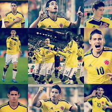 """016 James Rodriguez Colombia Football World Cup Top Stars 24/""""x26/"""" Poster"""