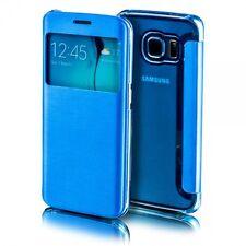 SmartCover Fenêtre Bleu pour Samsung Galaxy S8 G950 g950f Housse Etui Sac NEUF