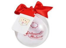 palla natale + camicina della fortuna 3616 rosso nascita bambino regalo pallina