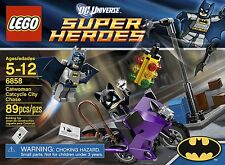 LEGO Super Heroes  6858 BATMAN Catwoman Catcycle City Chase 89 pc NEW