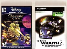 TREASURE PLANET BATTLE AT PROCYON & STAR WRAITH 2. 2 SPACE GAMES FOR THE PC!!
