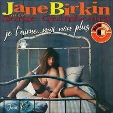 "7"" JANE BIRKIN Je t'aime moi non plus MAJOR MINOR MM645 Nur Cover! (Only Sleeve)"