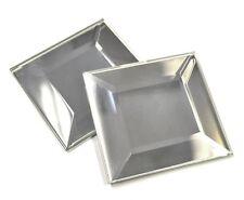 2X2 Wide Beveled Mirror Decorative Accent Arts Craft Backsplash (PACK OF 10)