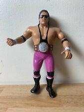 WWF LJN BRET HITMAN HART & BELT 1987 WRESTLING FIGURE SERIES 4 WWE RETRO HASBRO