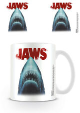 JAWS MOVIE SHARK MUG STEVEN SPIELBERG NEW GIFT BOXED 100 % OFFICIAL