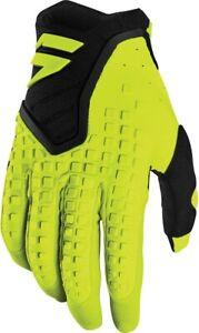 Shift Racing Black Label Pro Glove Men's Flo Yellow L 21722-130-L