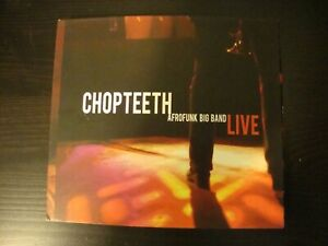 CHOPTEETH AFROFUNK BIG BAND - Chopteeth Live - CD - **Very Good Condition**