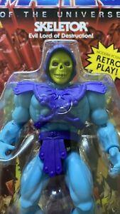Vintage head Skeletor US Version Masters Of The Universe Origins Mini Comic Text