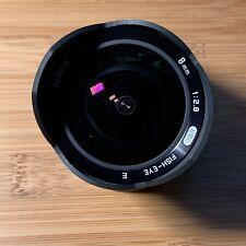 Bower Samyang Rokinon Ultra-Wide 8mm f/2.8 Fisheye Lens for Sony E - VG