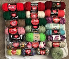 Red Heart Super Saver, Sport, Baby TLC Yarn Choose Color Full and Partials