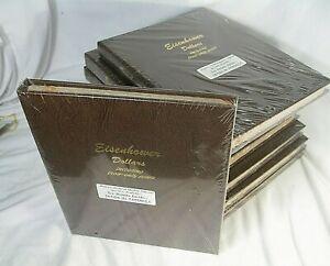 DANSCO #8176 Eisenhower Dollars COIN ALBUM - 4 Pages w/Proofs SEALED Shrinkwrap.
