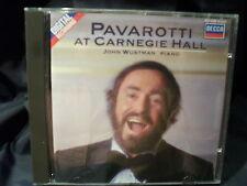 Pavarotti - At Carnegie Hall  -John Wustman