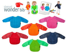 NEW Mum2Mum Wonder Baby Bib with Sleeves Water Resistant Large Big Long Sleeved