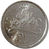 2000 Canada Millennium Series January - Pride 25 Cents Gem BU UNC Quarter!!