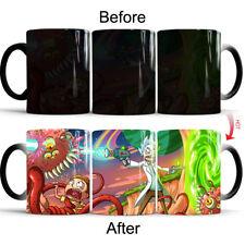 11oz Coffee Mug Tea Cup - Rick And Morty Color Heat Sensitive Changing Mug Gift
