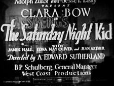THE SATURDAY NIGHT KID (DVD) - 1929 - Clara Bow, Jean Arthur