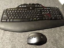 Logitech Marathon M705 Wireless Laser Mouse and Wireless Keyboard m700