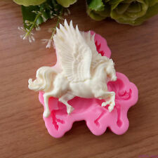 Flying Horse Fondant Cake Mold Decorating Baking Soap Mould Chocolate Bakeware