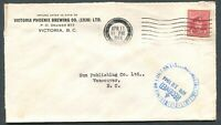 """CANADA WWII BLACK OUT CANCEL COVER """"VICTORIA"""""""