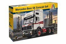 Italeri 3924 1/24 Scale Model Truck Kit Mercedes-Benz SK Eurocab 6x4